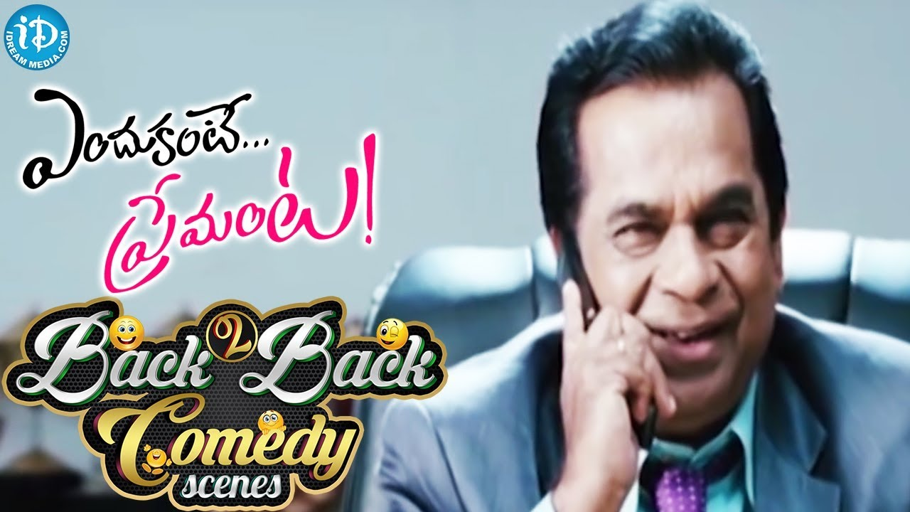 Endukante Premanta Movie Back to Back Comedy Scenes    Raghu Babu, Krishna Bhagavan