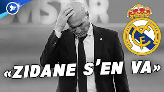 Zinedine Zidane va quitter le Real Madrid | Revue de presse