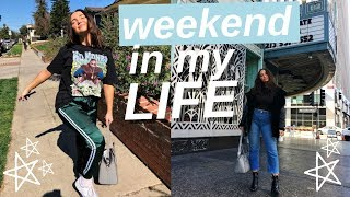 weekend in my life | house tour and haul