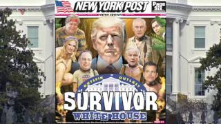 The NY Post's Latest Cover Has Trump Starring in a New Reality Show
