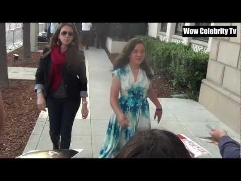 Amara Miller at 14th Annual Young Hollywood Awards