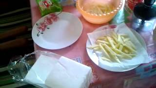 как готовить картошку фри в мультиварке поларис