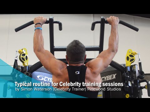 Pinewood Studios - Celebrity training session example