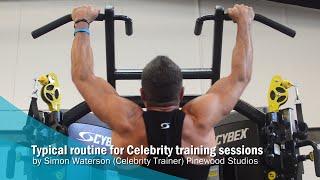 Pinewood Studios - Celebrity training session example