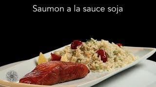 Choumicha: Saumon à la sauce Soja (V Fr)