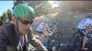 Peter Sagan & Team Bora VS 84 Year Old Ex Pro Uncle Chester