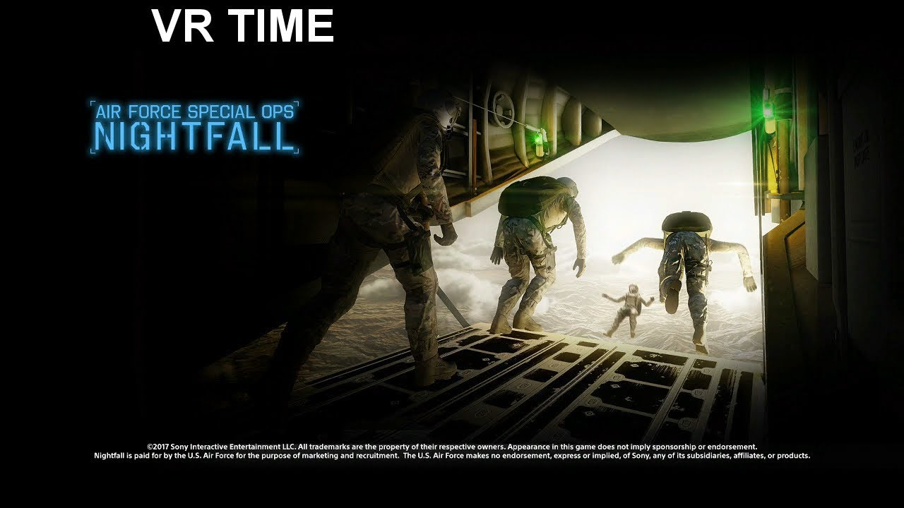 VR Time Air Force Special Ops Nightfall