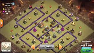 Epic TH 8 War Base with funny attack 😋😋