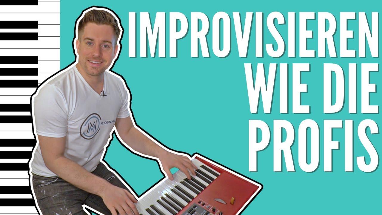 Wie Du als ANFÄNGER wie ein PROFI auf dem Klavier IMPROVISIERST