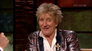 Rod Stewart on hearing Maggie May got to number one | The Late Late Show | RTÉ One thumbnail
