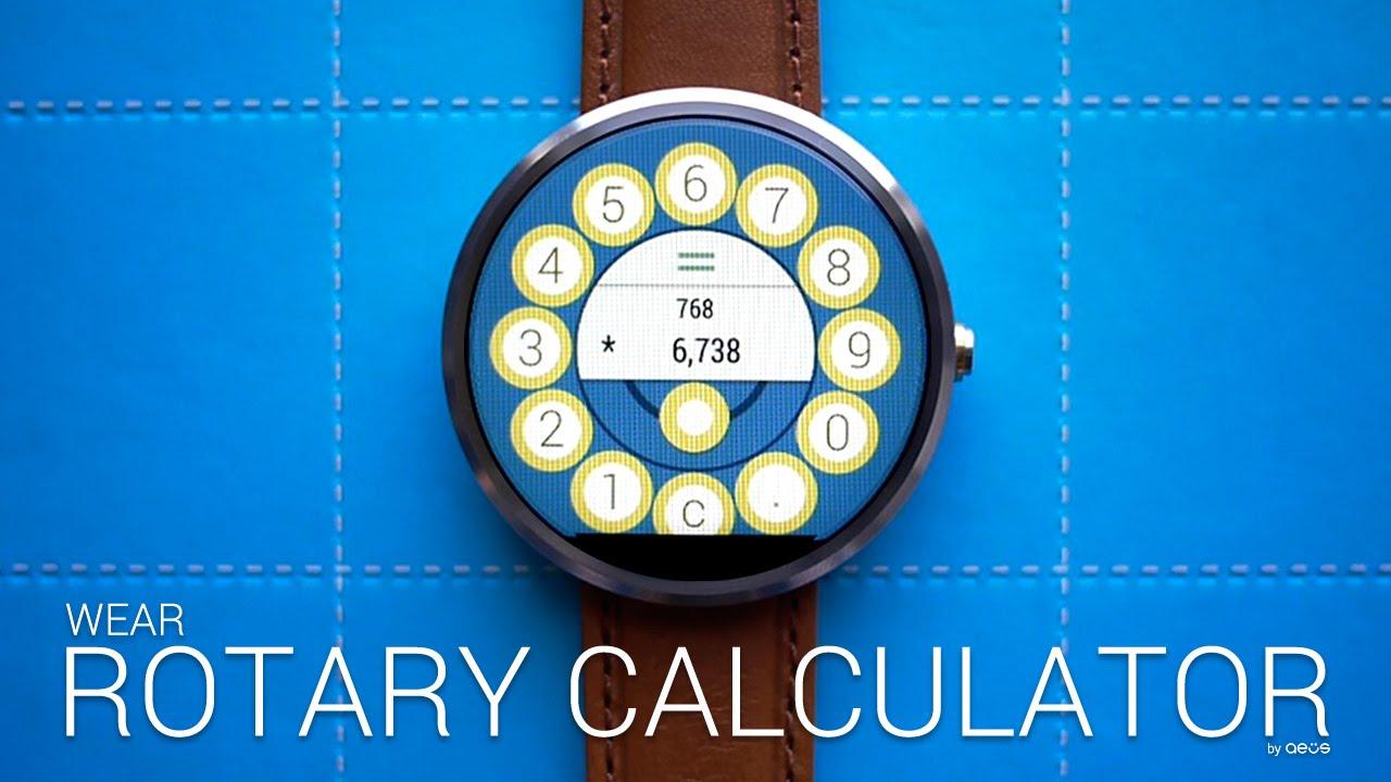 Wear Rotary Calculator
