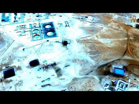شاهد / فيديو | بير زار حقل نفطي ضخم بتطاوين بالجنوب التونسي