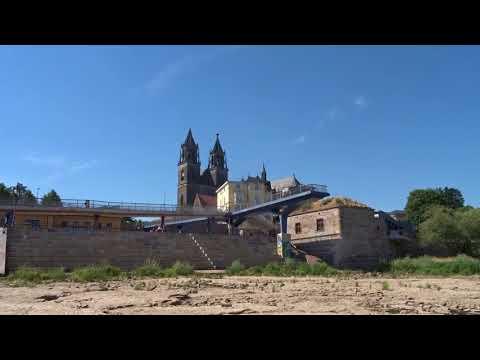 Die Dürre und die Elbe