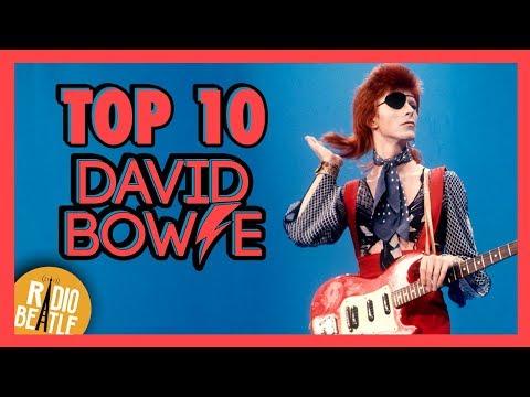 TOP 10 Canciones de DAVID BOWIE | Radio-Beatle