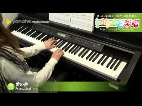 愛の夢 第3番 Franz Liszt