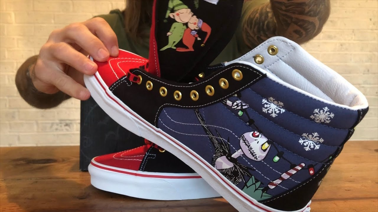 First Look At The Vans x The Nightmare Before Christmas