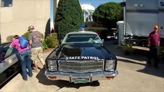 North Carolina State Fair 2014 -  NC State Trooper Cars Past and Present  - Oct 18, 2014