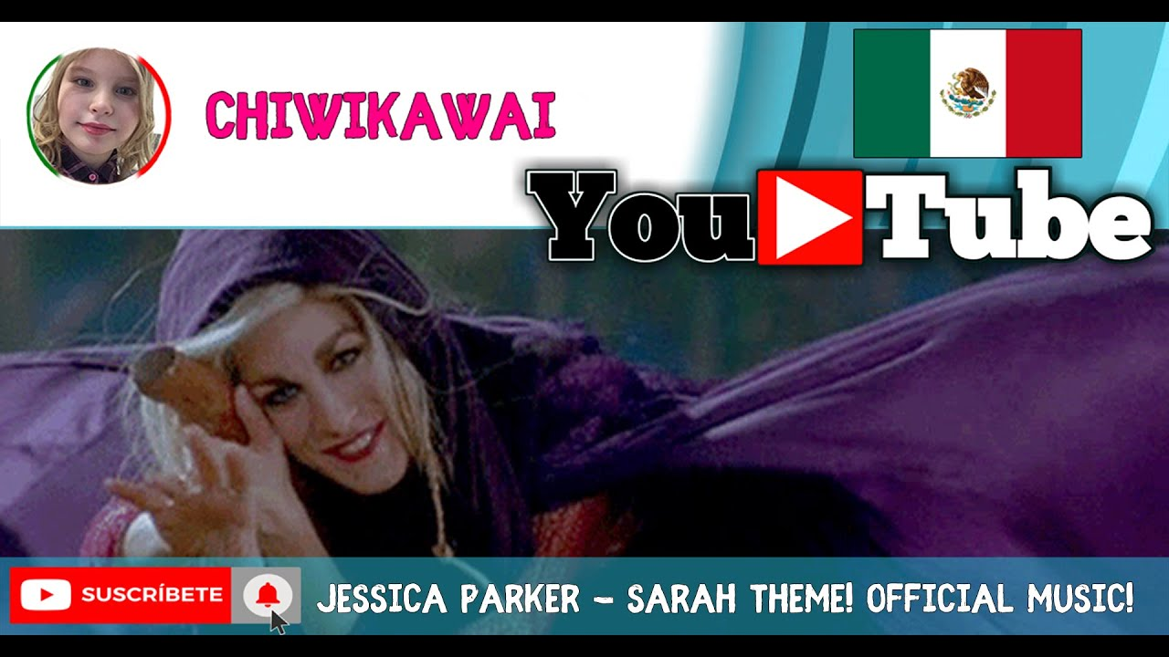 Jessica Parker - Sarah Theme! Official Music! - YouTube