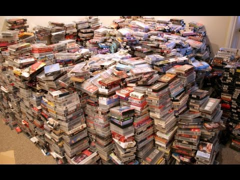 CAN YOU BELIEVE HOW MUCH THESE VHS MOVIES SOLD FOR ON EBAY?