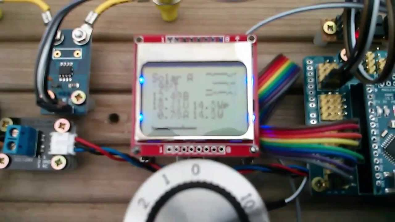 Arduino Mppt Solar Charge Controller 18 Tracking