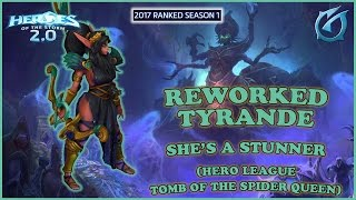 Grubby | Heroes of the Storm 2.0 - Tyrande the Stunner - HL - 2017 S1 - Tomb of the Spider Queen