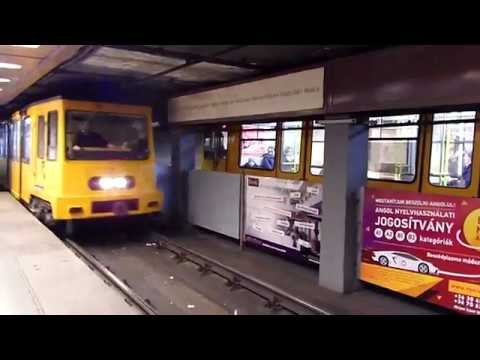Budapest Metro M1 Deák Ferenc Tér to Opera
