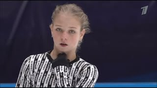 Alexandra Trusova / Test skates 2020 Behind the scenes