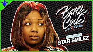 STAR SMILEZ Not Feeling The New Wave Of Female Battle Rap + More On #BattleCode | RapMatic