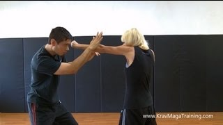 Krav Maga - Inside Defense (Redirecting at the Correct Angle)