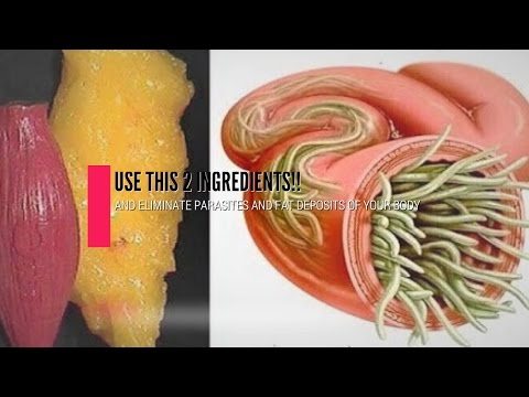 Just Use This 2 Ingredients To Empty All Fat Deposits And Parasites Of Your Body