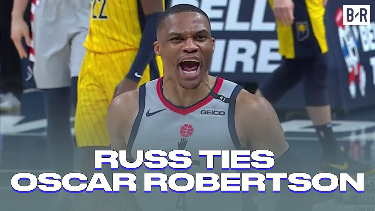 Russell Westbrook ties Oscar Robertson's NBA record with 181st ...