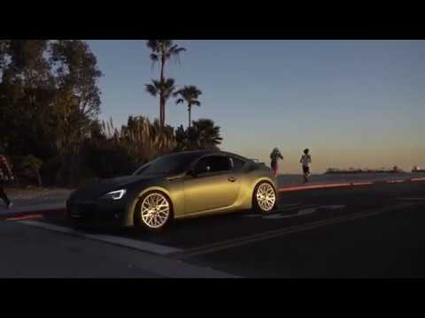 Lady Driven BRZ | Beachside | 4K