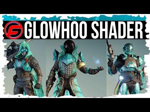 Destiny GLOWHOO CROTAS END HARD MODE SHADER Legendary ARMOR SHADER The Dark Below DLC