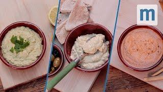 Easy Homemade Hummus - Three Ways