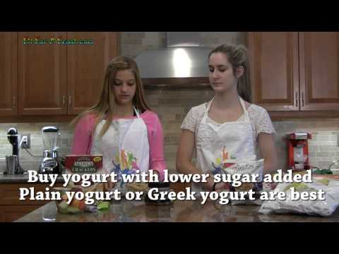 Healthy Snacks and Drinks - Diet and Nutrition Tips for Kids and Teens