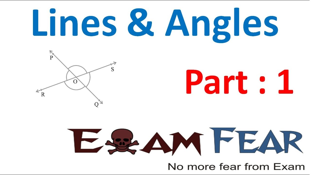 Maths Lines & Angles part 1 (Introduction) CBSE class 9 Mathematics ...