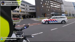 Escorting ambulance from The Hague to Rotterdam 12-11-2015