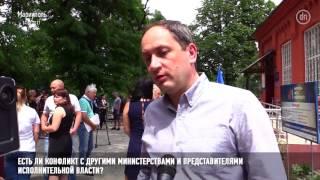 Интервью с министром Вадимом Чернышом