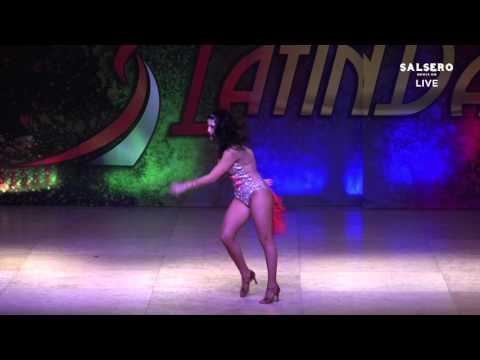Angelica Medina, Mexico, Salsa Amateur Lady, Final Round, WLDC 2015