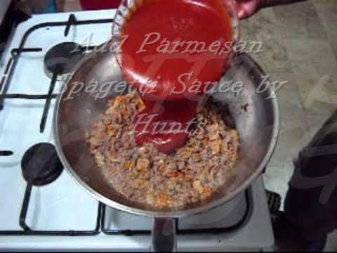 Spagetti Recipe and Garlic Bread Procedure