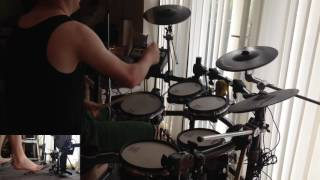 Starship - We Built This City (Roland TD-12 Drum Cover)