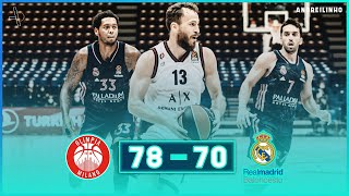 AX Armani Exchange Milan - Real Madrid |78-70| ● Full Highlights ● Round 4