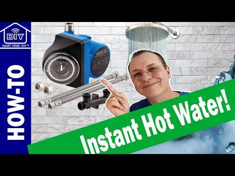 DIY Install Watts Hot Water Recirculation Pump + Wink Hub 2 +  Smart Home +  Save Water