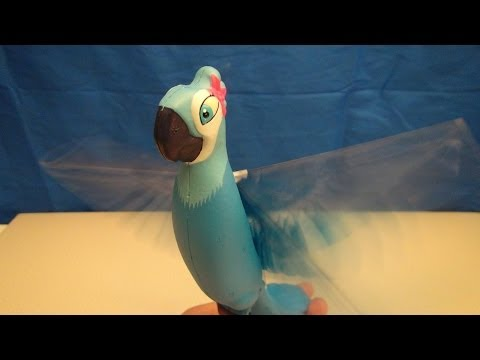 RIO 2 FLYING HIGH JEWEL REMOTE CONTROL BIRD VIDEO TOY REVIEW