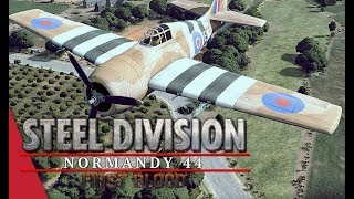 (SD League Europe Code S) Herr Robert vs Gonzo, Game 2! Steel Division: Normandy 44
