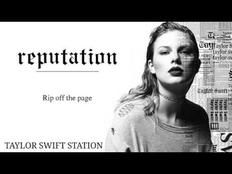 Taylor Swift - Rip Off The Page (Lyrics Ver. Snippet)
