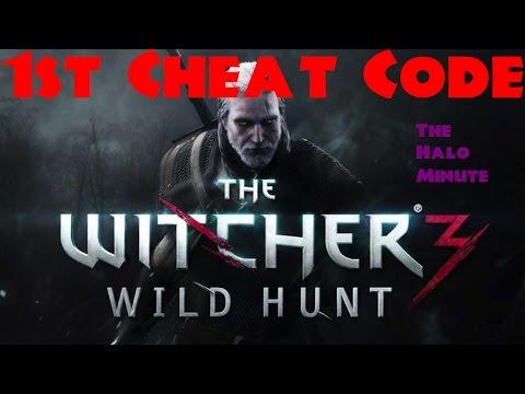 The <b>Witcher 3</b> - FIRST <b>CHEAT CODE</b> - YouTube