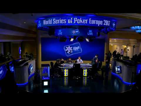 2017 WSOP Europe Event #10 - High Roller for One Drop No-Limit Hold'em. Day 1