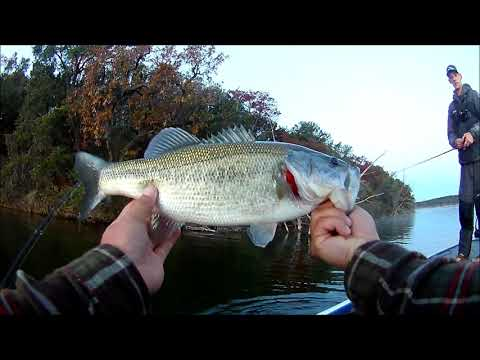 Bass Fishing In Granbury, Texas With Tyler Geer