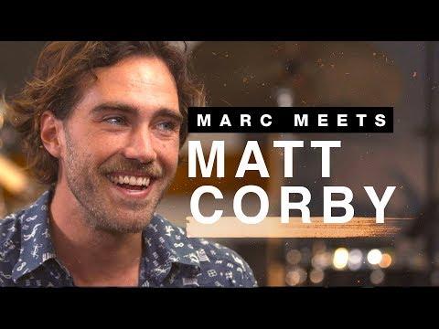 Matt Corby Explains How He Got The Nickname 'Captain Fiddlefingers'